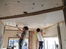 1022天井塗り2